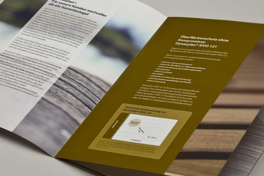 Degussa / Evonik Branding & Lead Agentur