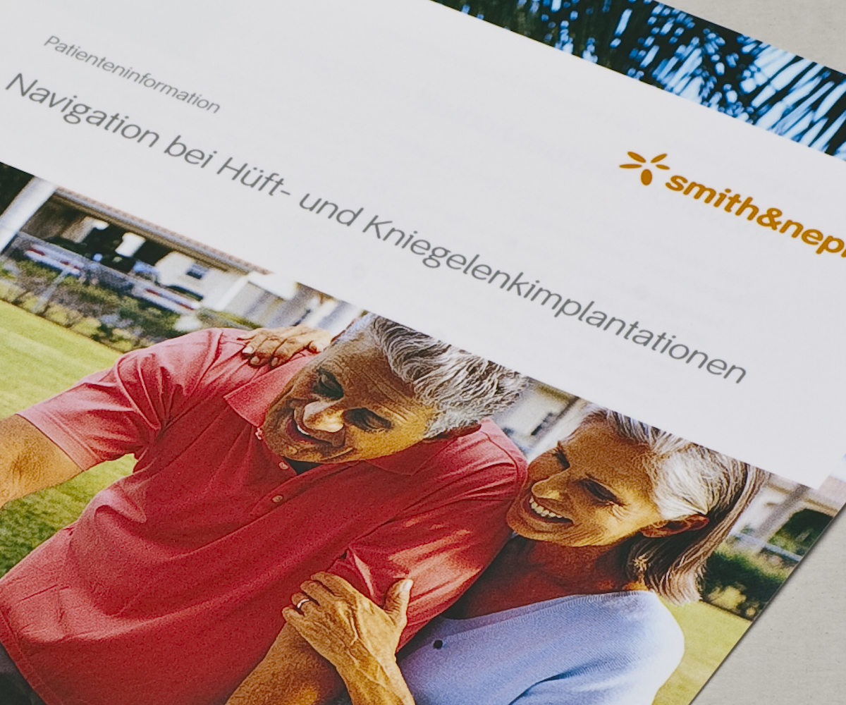 Smith & Nephew umfassende Patientenkommunikation